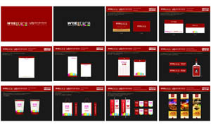 房地产VI设计模板矢量素材