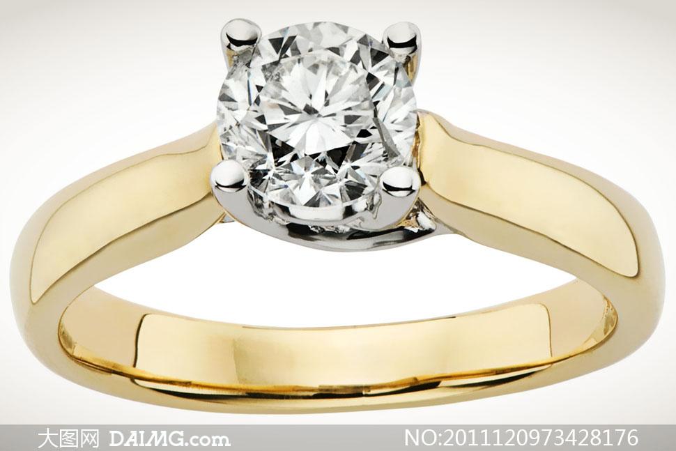 珠宝钻石戒指高清摄影图片 - 大图网设计素材下载