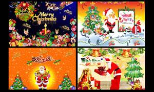 圣诞节海报设计PSD分层素材