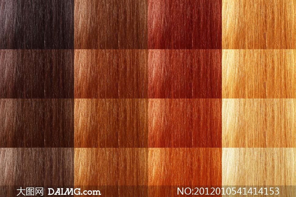 ĸ�同头发颜色展示高清摄影图片 Ť�图网设计素材下载