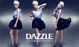 意大利女装品牌DAZZLE模特高清摄影图片