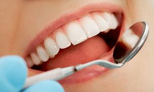 口腔健康检查高清摄影图片