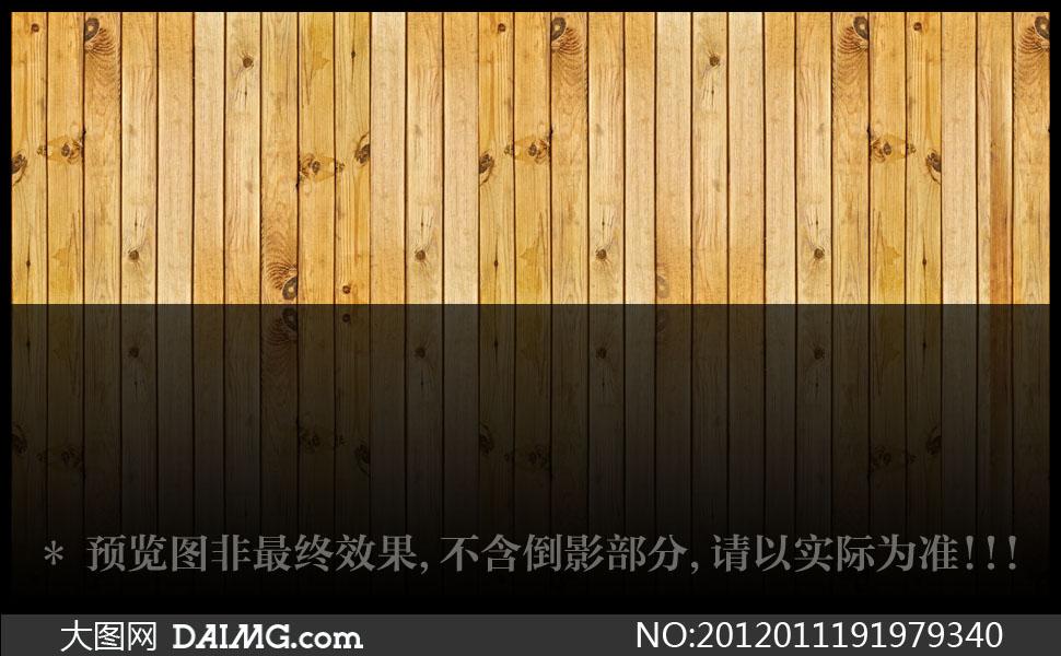 纵向排列的木板材质高清摄影图片