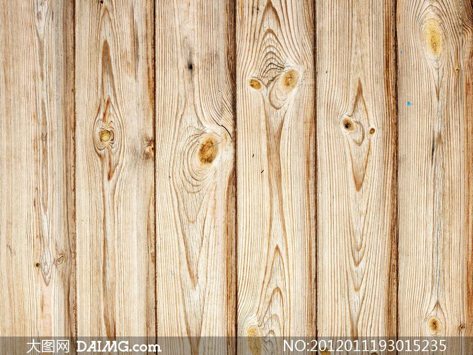 纹路清晰的木板高清摄影图片