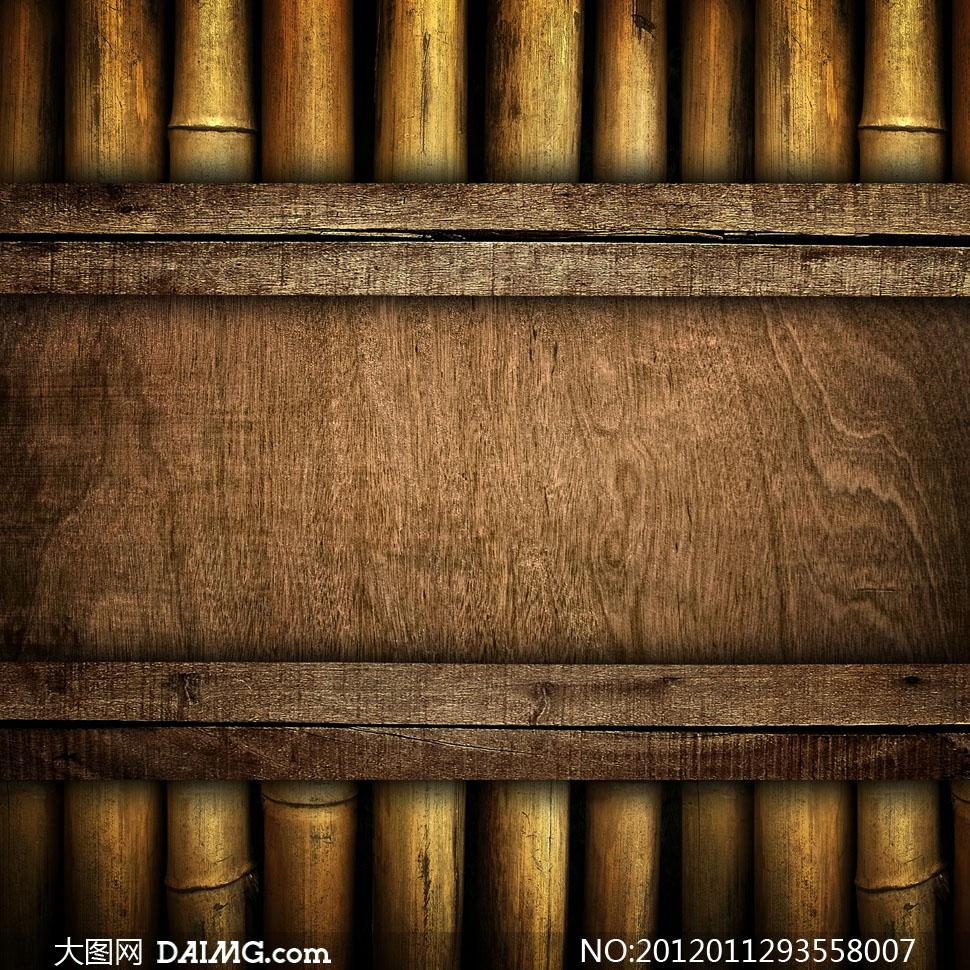 高清大图素材摄影图片木纹木板木质材质贴图复古怀旧