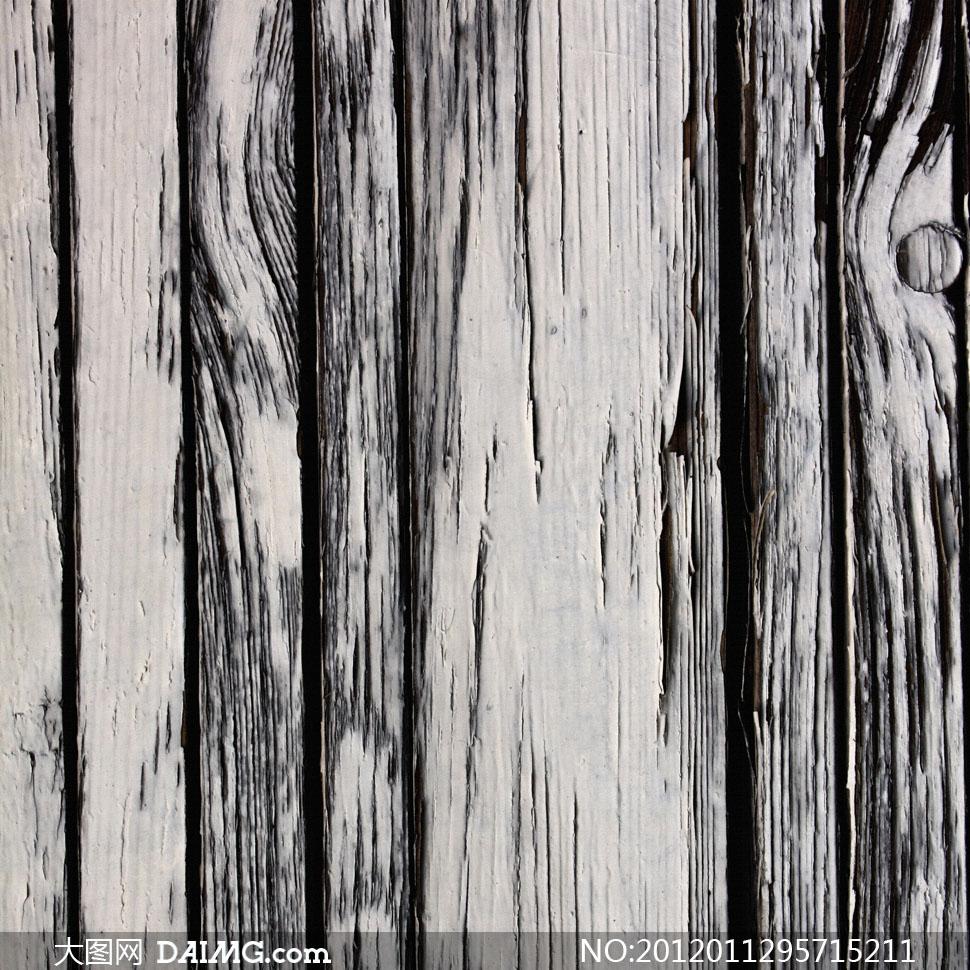 抹了涂料的木板背景高清摄影图片