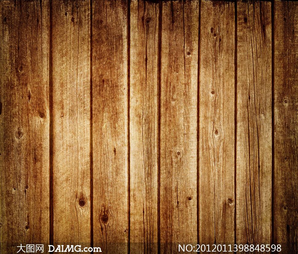 磨损度很高的木板背景高清摄影图片