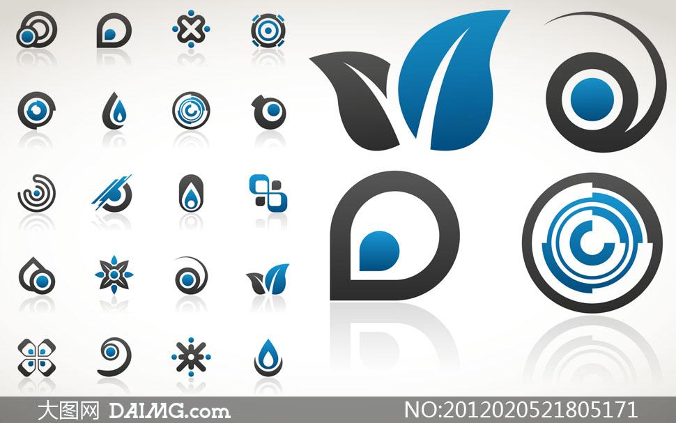 创意图形logo设计矢量素材