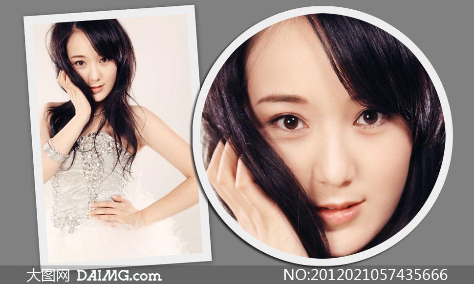 网络歌手龙梅子高清摄影图片