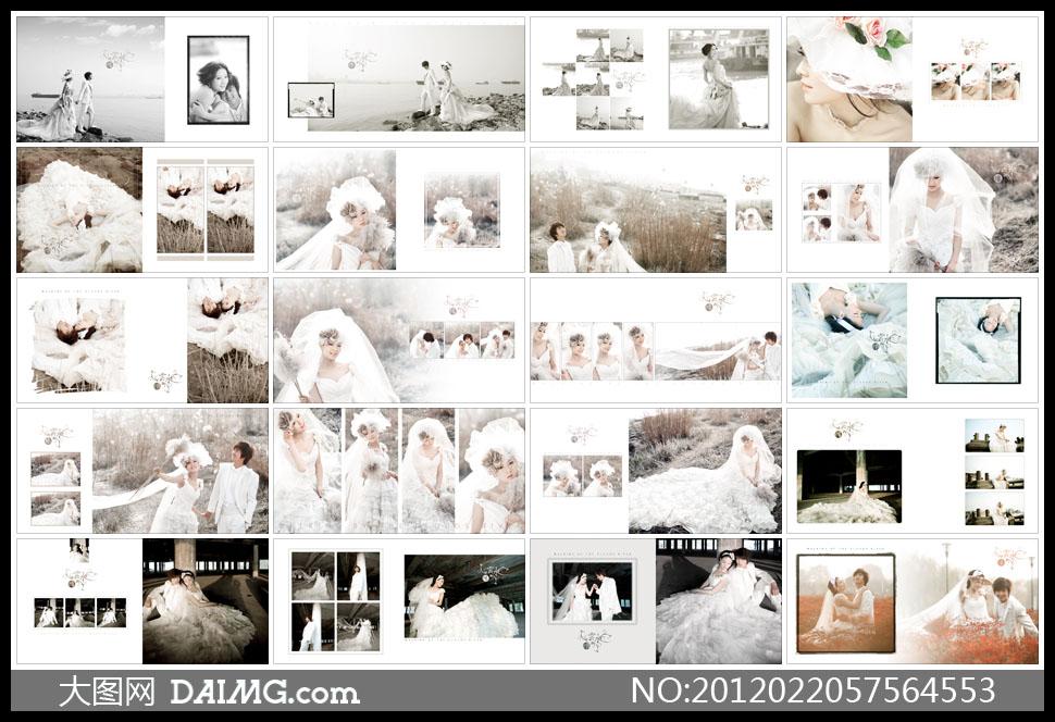 影楼的后期相册,从哪里弄图片