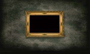 欧式画框设计图片素材