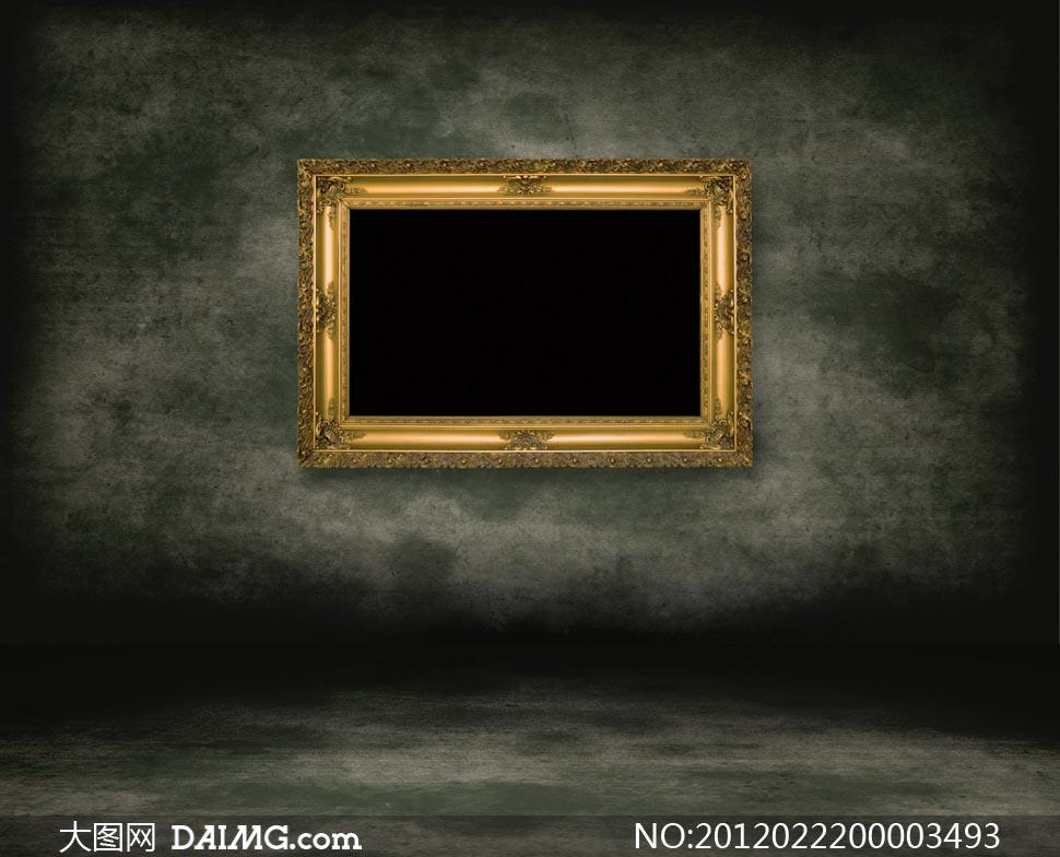 欧式画框设计图片素材图片