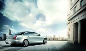 豪华汽车捷豹XJ3设计图片素材
