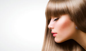 伤感侧面美女囹�a�i-9`�_外国秀发美女人物侧面摄影高清图片