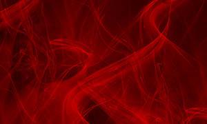 红色轻纱笔刷
