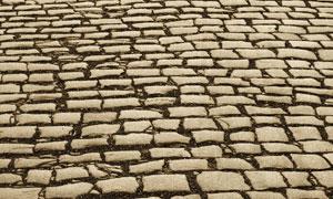 铺石路面摄影高清图片