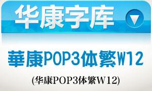 华康POP3体繁W12