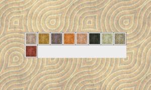 颓废木材年轮填充图案
