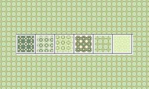 绿色格子背景填充图案
