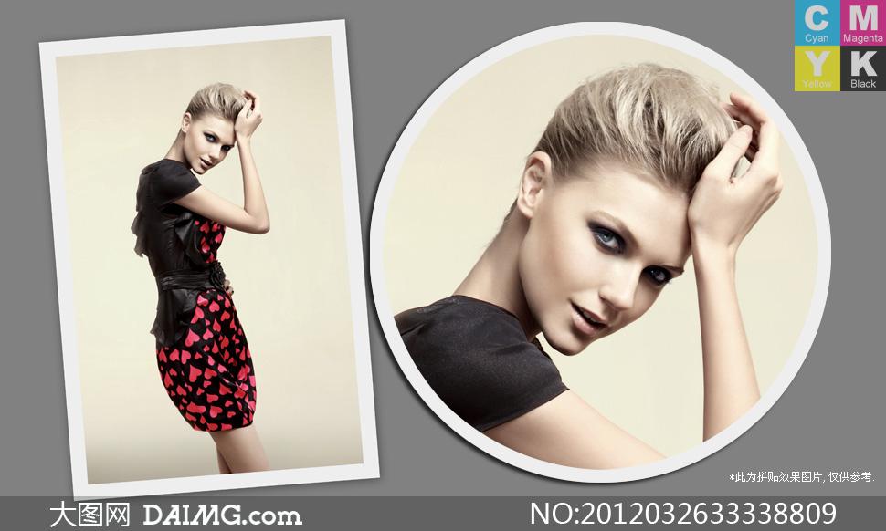 时尚服装广告外国美女模特摄影高清图片 - 大图网设计