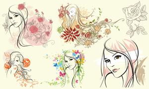 玫瑰花的简笔画