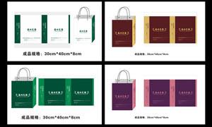 房地产手提袋设计矢量素材