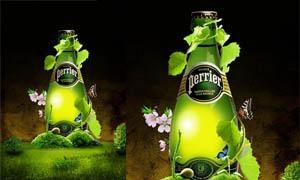 国外啤酒广告设计PSD分层素材