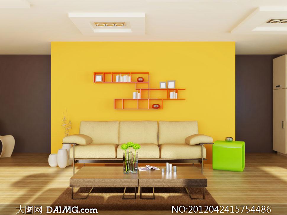 现代家居室内装修效果图高清图片