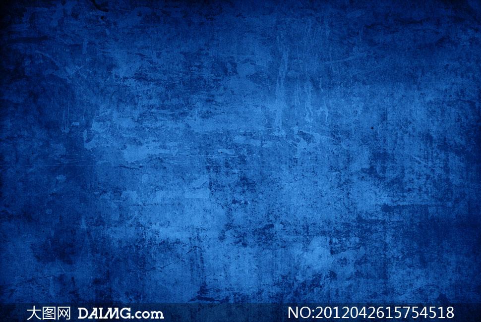 蓝色污渍颓废溶图背景高清图片 - 大图网设计素材下载