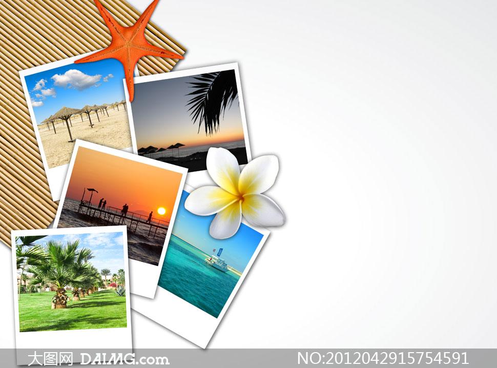 照片拼贴效果高清摄影图片