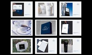 房地产简洁VI设计模板PSD源文件