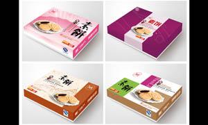 馅饼包装盒设计PSD分层素材