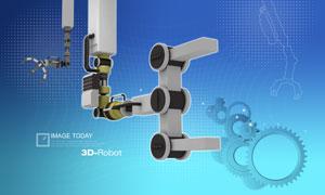 机器手臂与齿轮元素PSD分层素材