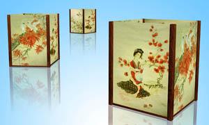 中国风宫灯设计PSD分层素材
