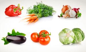 辣椒胡萝卜番茄等蔬菜摄影高清图片