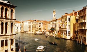 意大利水城威尼斯风光摄影高清图片