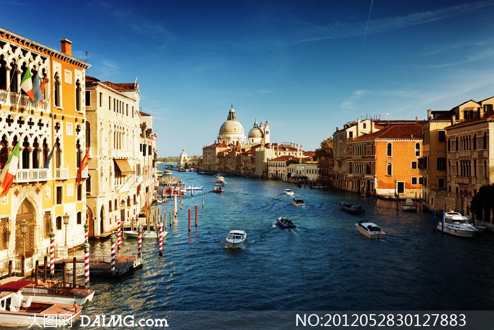 意大利威尼斯水街风景摄影高清图片 - 大图网设