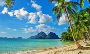 菲律宾巴拉望海景摄影高清图片