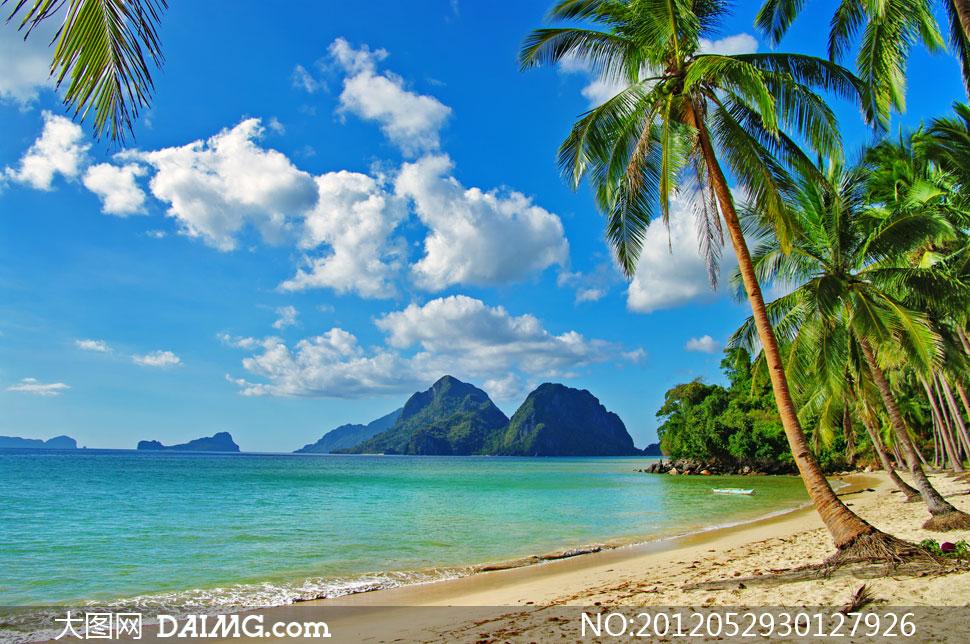 菲律宾旅游景点风光摄影高清图片         菲律宾巴拉望岛风景