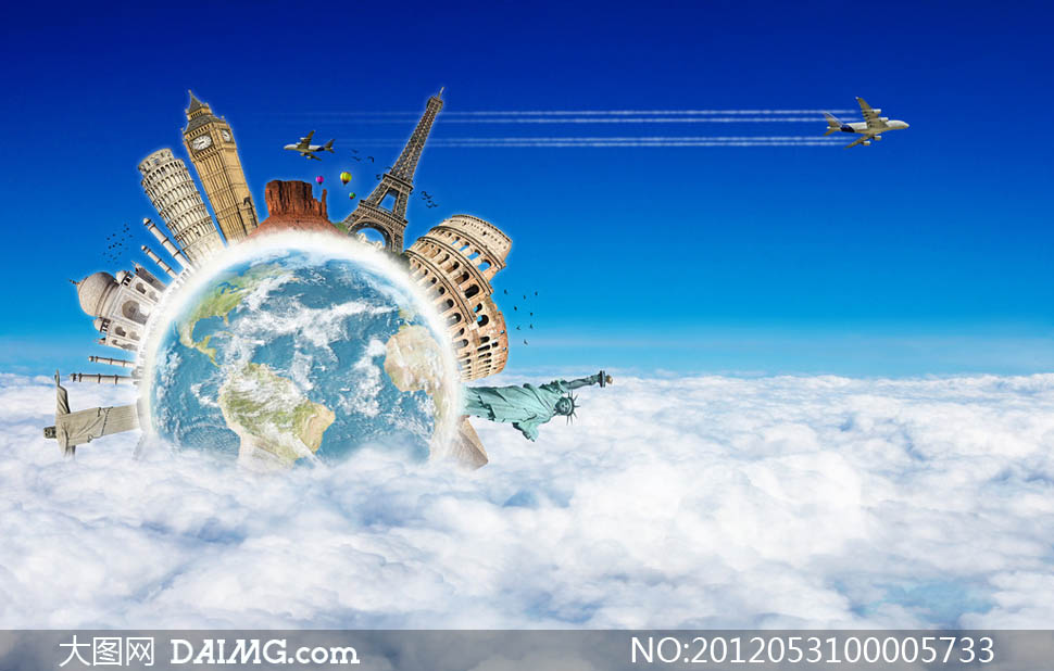 旅游图片素材_创意旅游海报图片素材编号2012062910453