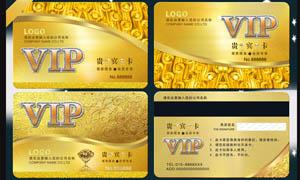 尊贵华丽的VIP贵宾卡设计PSD源文件