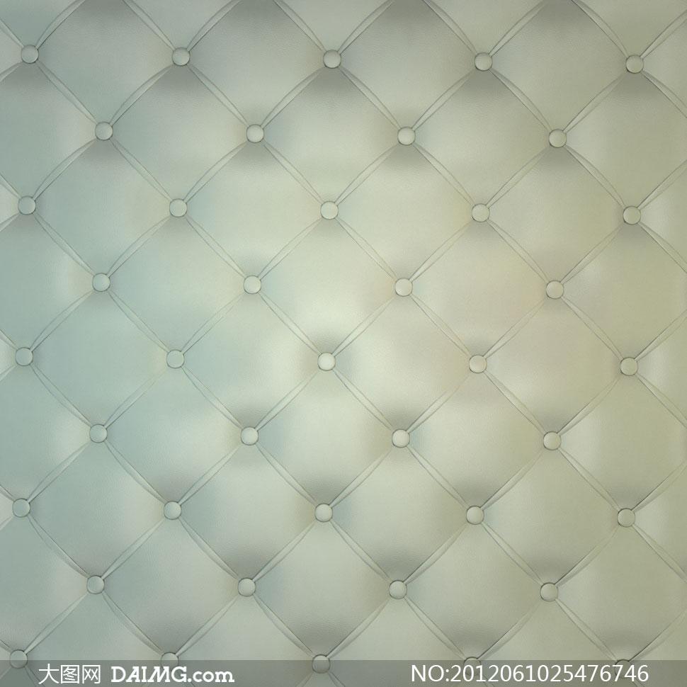 Ƶ�灰绿色真皮沙发材质纹理高清图片 Ť�图网设计素材下载