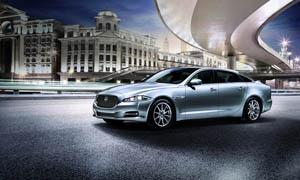 捷豹XJ汽车摄影设计图片素材