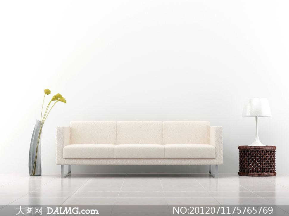 时尚简约概念沙发家具高清图片