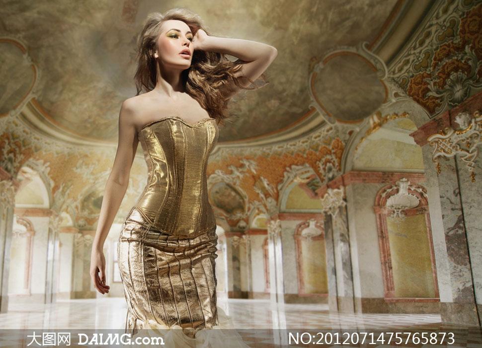 高清摄影素材大图图片人物美女女人外国国外
