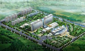 工业园区鸟瞰图设计PSD分层素材