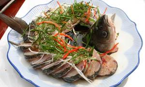清蒸皖鱼美食摄影图片