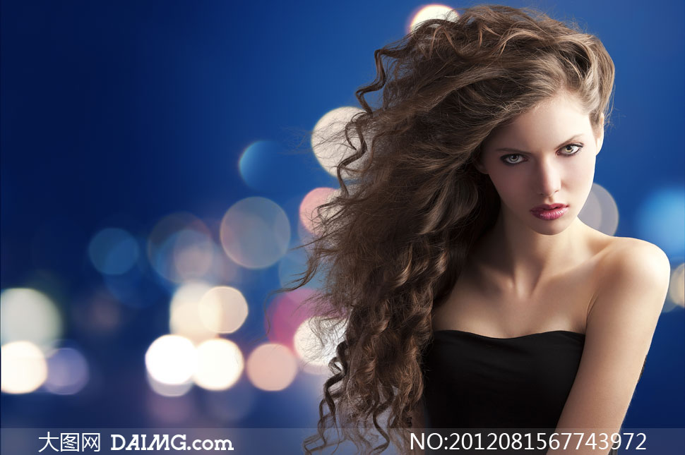 高清摄影素材大图图片人物美女女人女孩国外写真