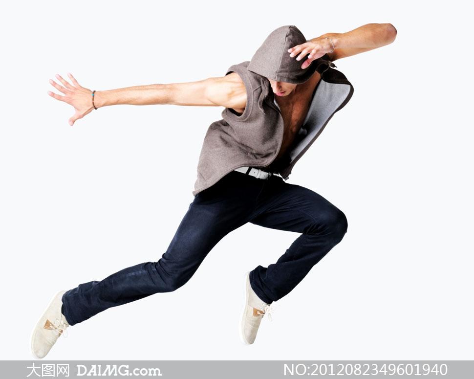 跃起的街舞运动人物摄影高清图片 - 大图网素材daimg.