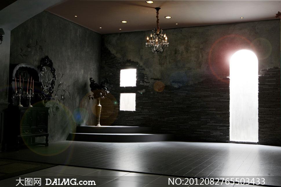 强光照射室内场景影楼摄影背景图片 - 大图网设计素材